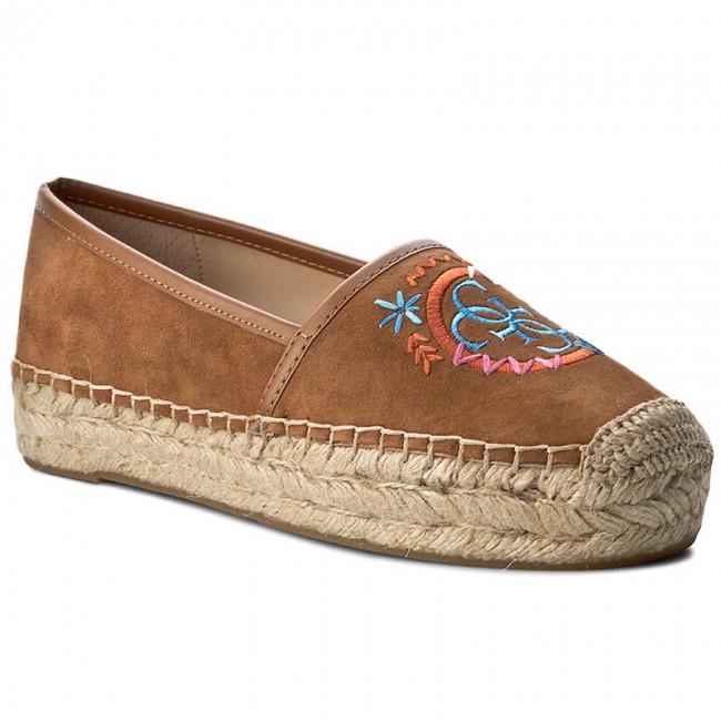 Espadrilles GUESS  Jalyn FLJYN2 SUE14 COGNA  Espadrilles  Low shoes  Womens shoes       0000199534546
