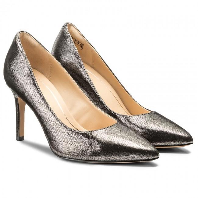 good quality buy cheap top quality Stilettos CLARKS - Dinah Keer 261267054 Pewter Metallic ...