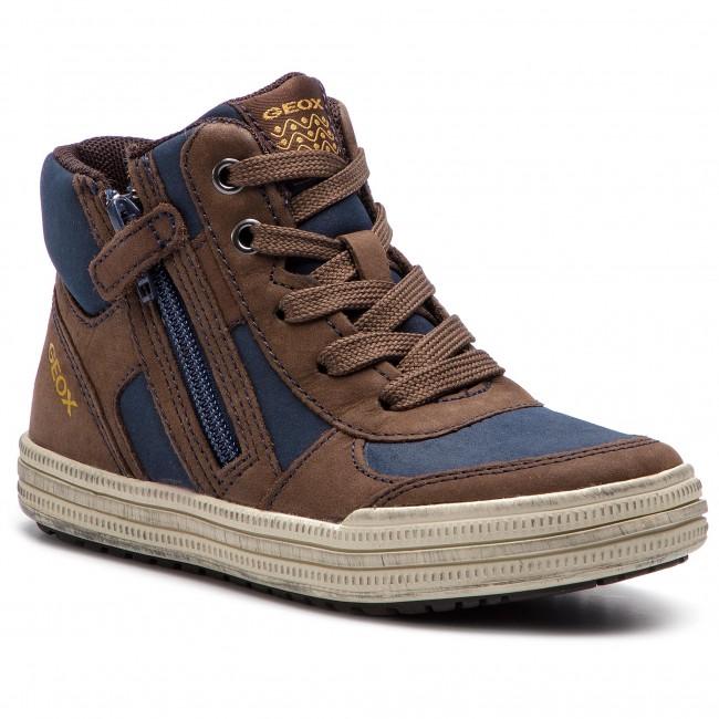 persecucion toda la vida olvidadizo  Boots GEOX - J Elvis B J64A4B 0BCSE C0947 Brown/Navy - Boots - High boots  and others - Boy - Kids' shoes | efootwear.eu