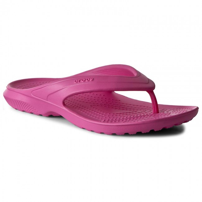 90773d3492d88 Slides CROCS - Classic Flip 202635 Neon Magenta - Flip-flops - Mules ...
