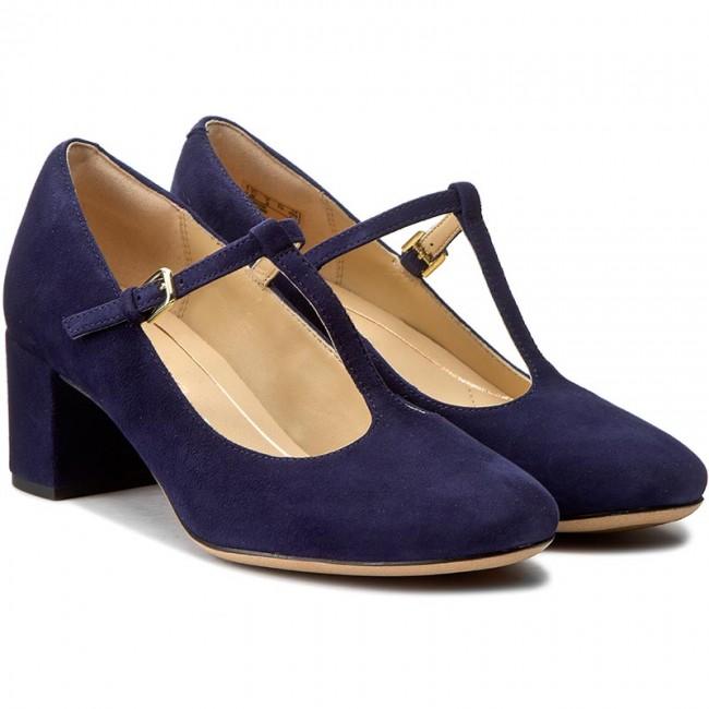b9b19dfcfdec Shoes CLARKS - Orabella Fern 261282414 Navy Suede - Heels - Low shoes -  Women s shoes - www.efootwear.eu