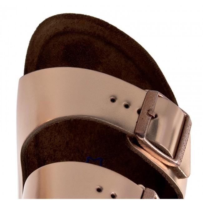 337dc4c9d134 Slides BIRKENSTOCK - Arizona 0952093 Metallic Copper - Casual mules - Mules  - Mules and sandals - Women s shoes - www.efootwear.eu