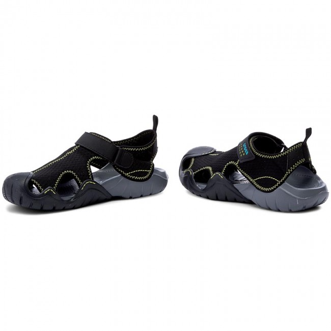 84dba7fb70bf Sandals CROCS - Swiftwater Sandal M 15041 Black Charcoal - Sandals ...