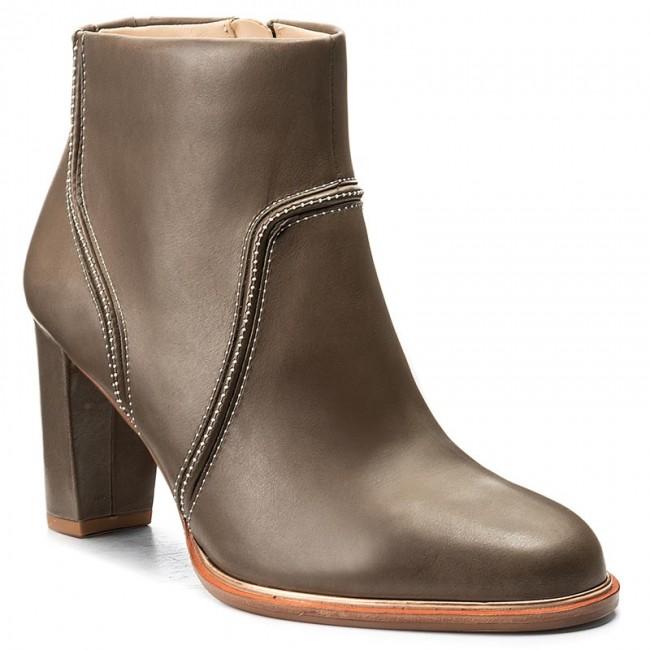 Boots CLARKS - Ellis Betty 261291704 Grey Leather