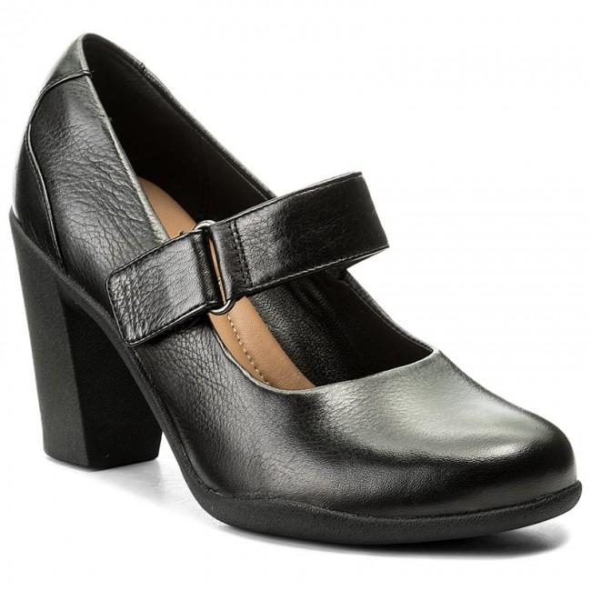 Shoes CLARKS - Adya Clara 261294694 Black Leather