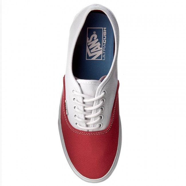 b8eb93b0e52 Plimsolls VANS - Authentic DX VN0A38ESMS9 (Blocked) True White Raci -  Plimsolls - Low shoes - Men s shoes - www.efootwear.eu