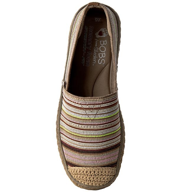 Espadrilles SKECHERS - BOBS Cabana Party 34253 NTMT Nat Multi - Espadrilles  - Low shoes - Women s shoes - www.efootwear.eu d0c0bbf5c7