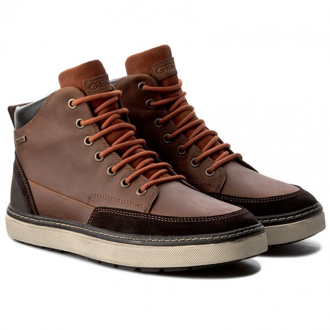 Knee High Boots GEOX U Mattias B Abx B U64T1B 04522 C6001 Cognac