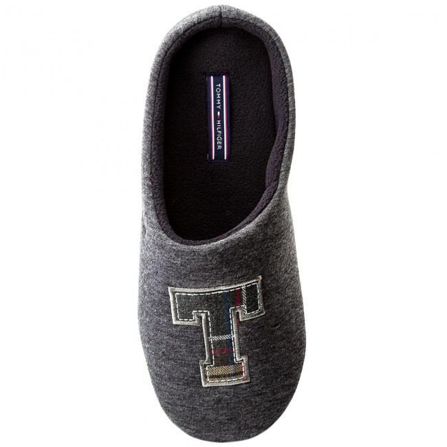 32b4b3de49 Slippers TOMMY HILFIGER - Cornwall 1D2 FM0FM01135 Magnet 008 - Slippers -  Mules and sandals - Men s shoes - www.efootwear.eu