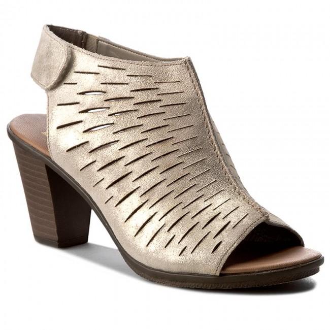 b710fb2fc1 Sandals RIEKER - 64197-62 Metallic - Casual sandals - Sandals ...
