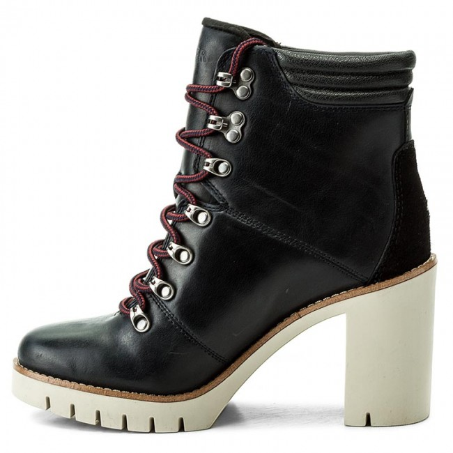 Boots TOMMY HILFIGER - Paola 5A FW0FW01543 Midnight 403