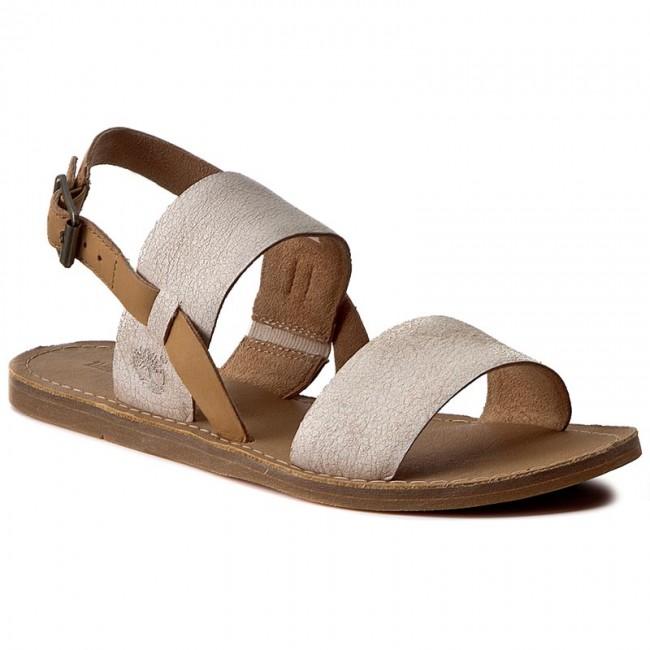 Sandals TIMBERLAND - Carolista Slingback A1A8C Tan - Casual sandals ... b6336d1ce4193