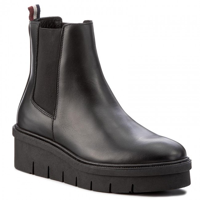 450b53a28 Boots TOMMY HILFIGER - DENIM Deena 2A FW0FW01834 Black 990 - Boots ...
