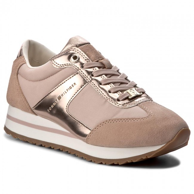 5a2015705f Sneakers TOMMY HILFIGER - Angel 2C1 FW0FW01894 Dusty Rose 502 ...