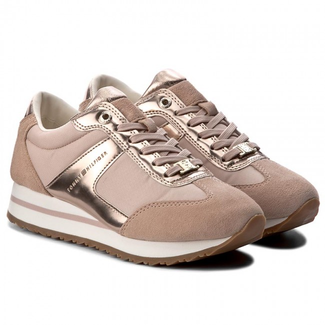 f8480328eee Sneakers TOMMY HILFIGER - Angel 2C1 FW0FW01894 Dusty Rose 502 ...
