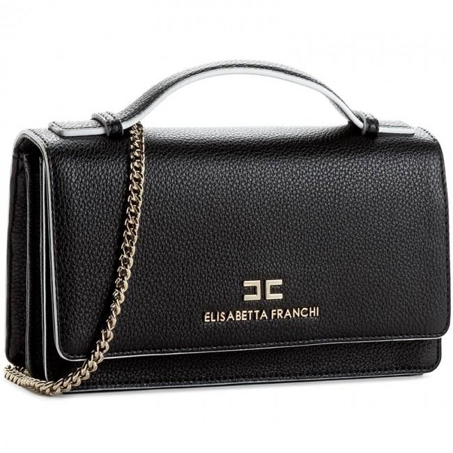 d8ca1af4671f Handbag ELISABETTA FRANCHI - BS-398-9035-V184 Nero Avorio 314 ...