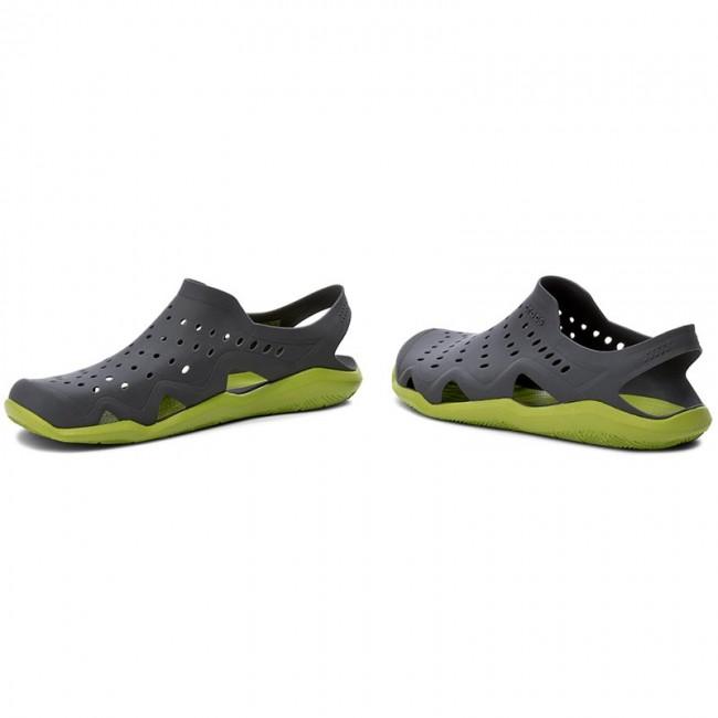 c2191ccfa1 Sandals CROCS - Swiftwater Wave M 203963 Graphite Volt Green ...