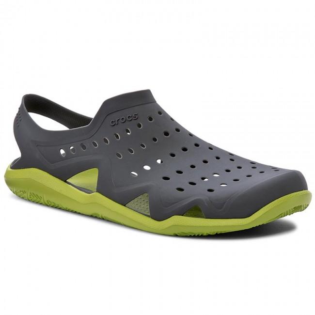 856d5f0f204e Sandals CROCS - Swiftwater Wave M 203963 Graphite Volt Green ...