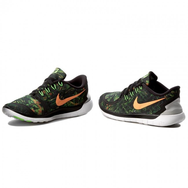 89f3a653e009 Shoes NIKE - Free 5.0 Solstice 806588 003 Black Brght Ctrs Pr Tropical ...