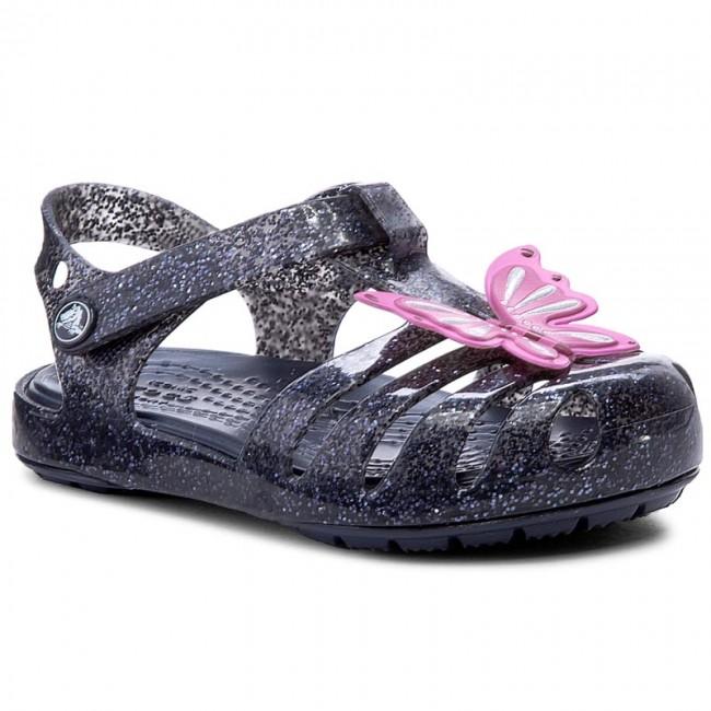 d7617da2f21 Sandals CROCS - Isabella Novelty Sandal 204529 Navy - Sandals ...