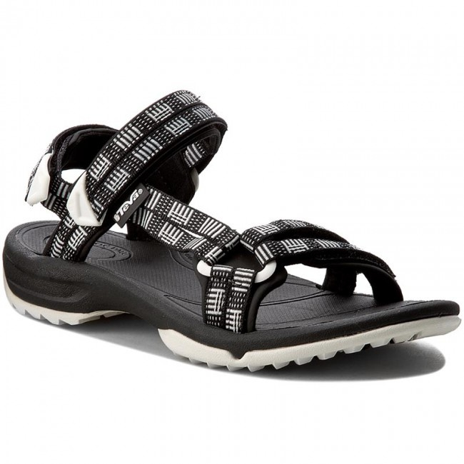 a74de6f36bf1f8 Sandals TEVA - Terra Fi Lite 1001474 Atitlan Black White - Casual ...
