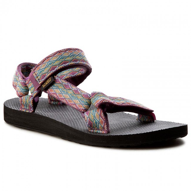 1e2b04d3d Sandals TEVA. Original Universal 1003987 Miramar Fade Dark Purple Multi