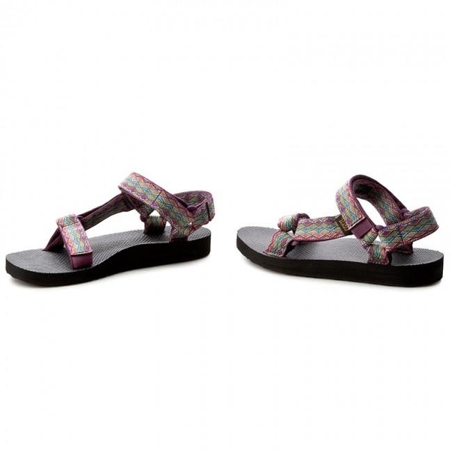 b066ffc99 Sandals TEVA - Original Universal 1003987 Miramar Fade Dark Purple Multi