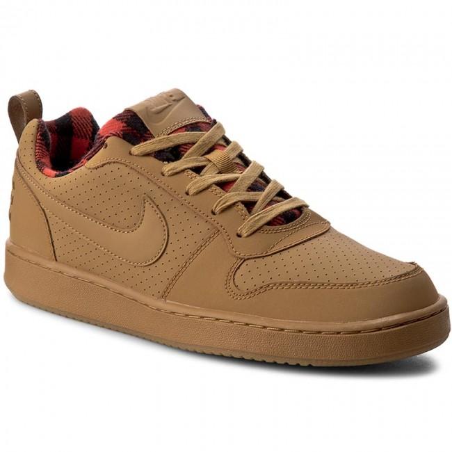 67580d2f Shoes NIKE - Court Borough Low Prem 844881 700 Wht/Wht Lt Crmsn/Gm ...