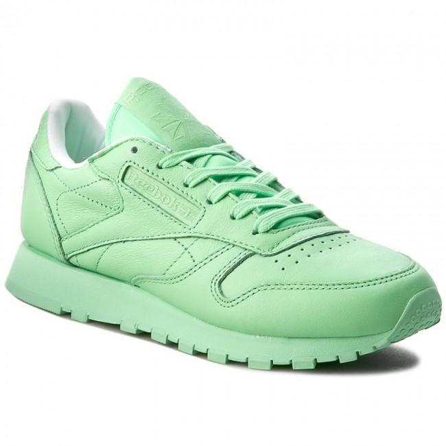 02a2de5bae8 Shoes Reebok - Cl Lthr Pastels BD2773 Mint Green White - Sneakers ...
