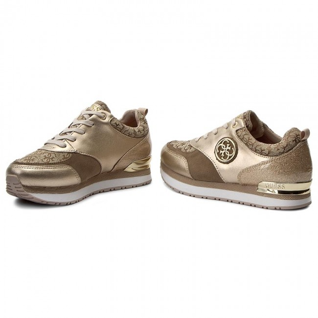 Guess golden leather sneaker RIMMA (35 - Gold) wOSFluPucA