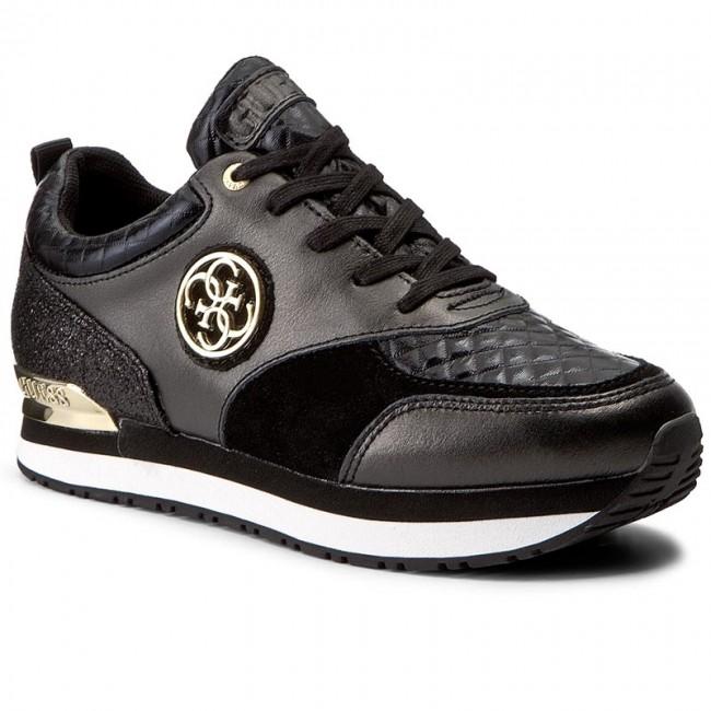 Sneakers GUESS  Rimma FLRIM3 LEM12 BLACK  Sneakers  Low shoes  Womens shoes       0000199605192