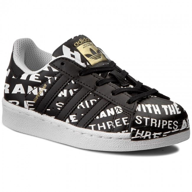 dbf753b079fe Shoes adidas - Superstar C BB0360 Cblack Cblack Ftwwht - Laced shoes ...