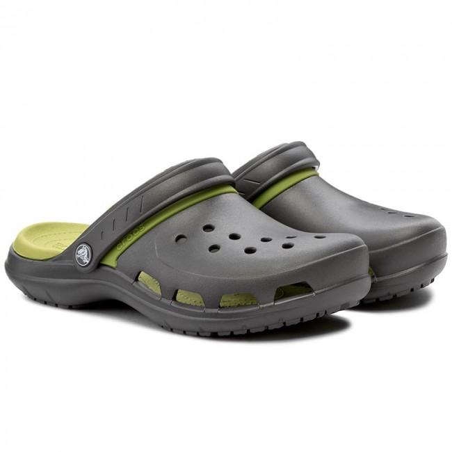 0112751de43d04 Slides CROCS - Modi Sport Clog 204143 Graphite Volt Green - Clogs and mules  - Mules and sandals - Men s shoes - www.efootwear.eu