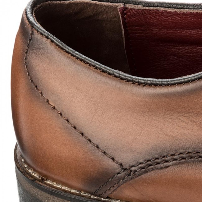 jake fmjak lea cognac chaussures chaussures basses officiel de chaussures chaussures de 04c3ca
