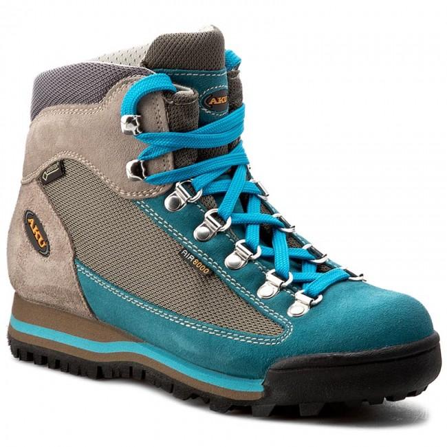 Trekker Boots AKU  Ultralight Micro G 36510 PetrolTurquoise 259  Trekker boots  High boots and others  Womens shoes       0000199607905