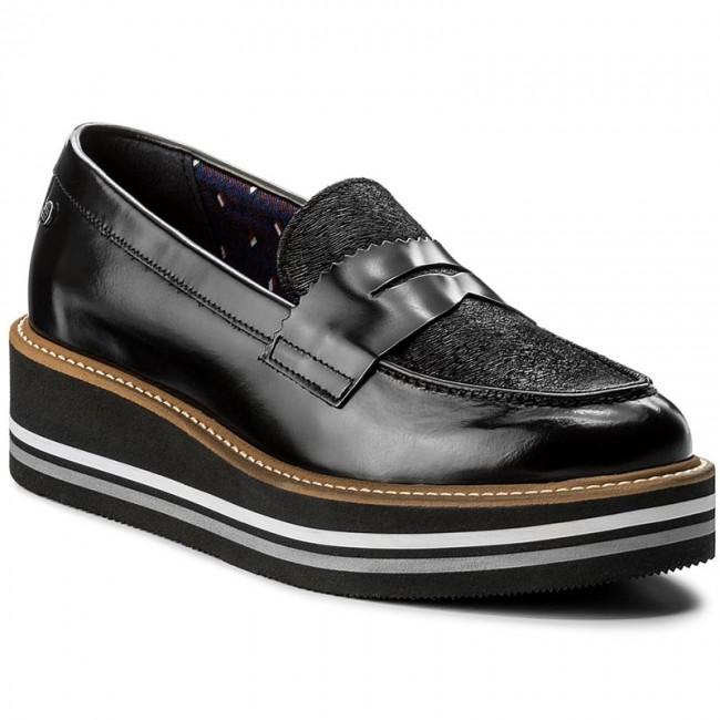 d32c2f2f984f7 Shoes TOMMY HILFIGER - Elisa 2C FW0FW01956 Black 990 - Wedge-heeled ...
