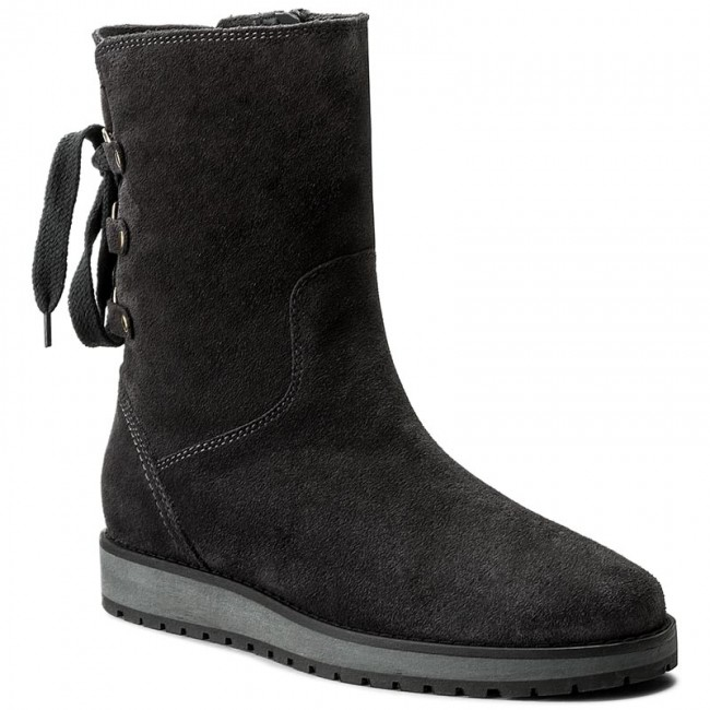 852d2d0215816 Boots TOMMY HILFIGER - Rita 2B FW0FW01531 Magnet 008 - Boots - High ...