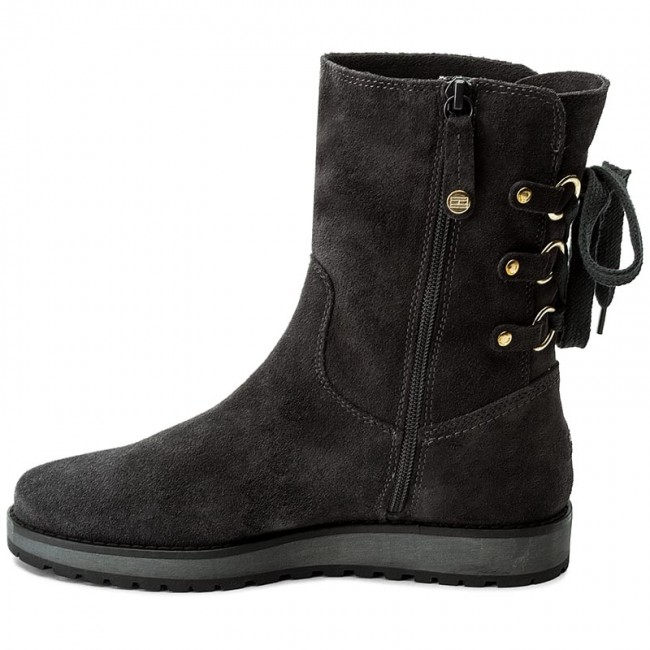 e2e2921db8e2f Boots TOMMY HILFIGER - Rita 2B FW0FW01531 Magnet 008 - Boots - High boots  and others - Women s shoes - www.efootwear.eu