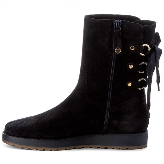 0b23f17c17ada Boots TOMMY HILFIGER - Rita 2B FW0FW01531 Midnight 403 - Boots - High boots  and others - Women s shoes - www.efootwear.eu