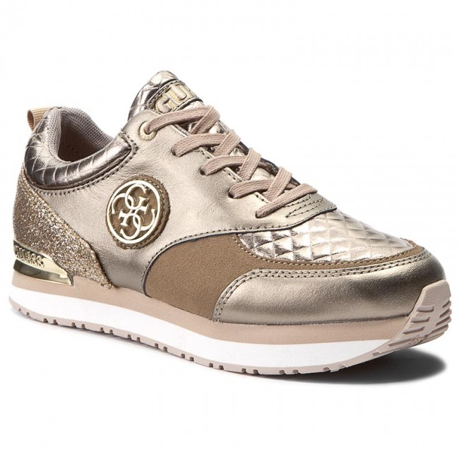 Sneakers GUESS - Rimma FLRIM3 LEM12 GOLD - Sneakers - Low shoes ... bba92fe22