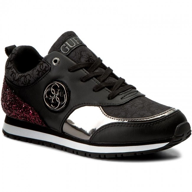 Sneakers GUESS - Reeta FLETA3 FAB12 BLACK - Sneakers - Low shoes ... 265cba48d74