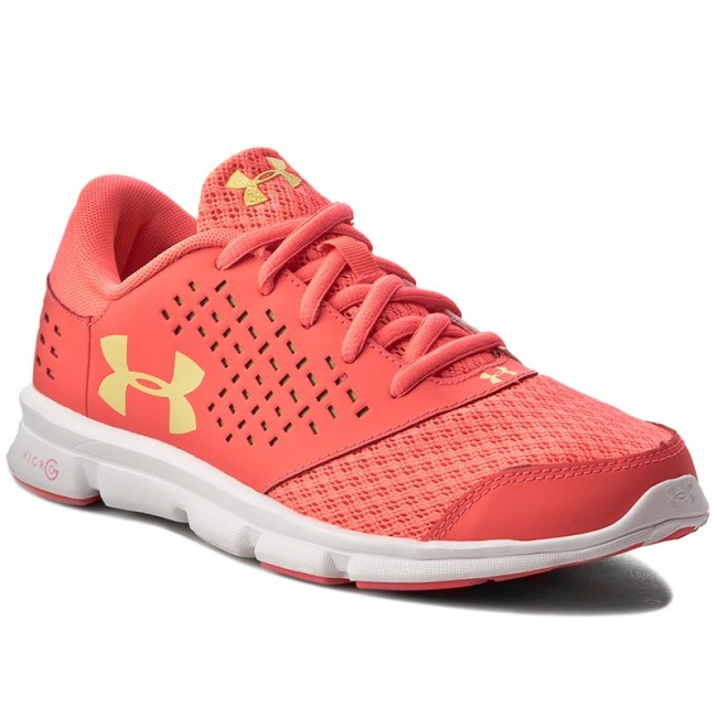 Shoes UNDER ARMOUR - Ua Ggs Micro G Rave Rn 1285435-297 Src/Wht