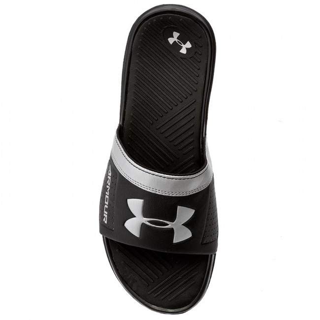 f32ff78d3 Slides UNDER ARMOUR - Ua M Playmaker VI Sl 1287323-001 Blk/Msv - Clogs and  mules - Mules and sandals - Men's shoes - www.efootwear.eu