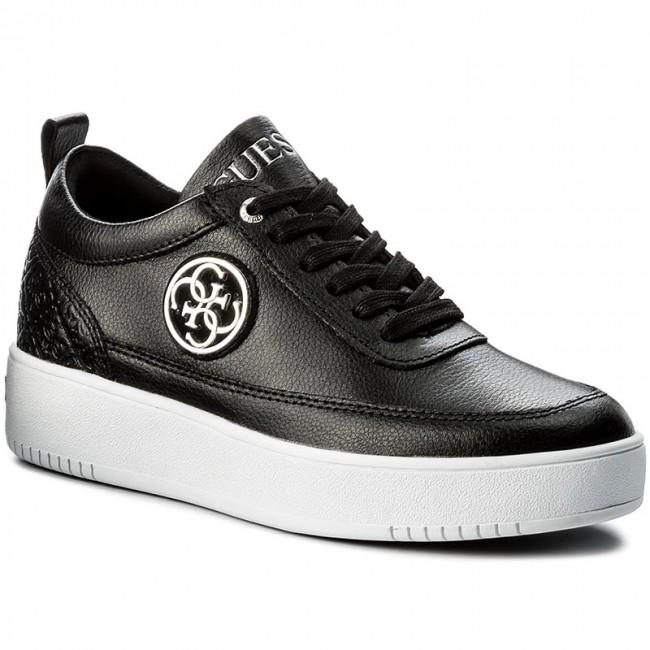 Sneakers GUESS  Flavia FLFVA3 LEA12 BLACK  Sneakers  Low shoes  Womens shoes       0000199618680