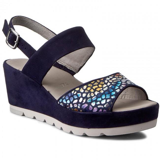 Sandals GABOR - 65.741.16 Blue/River