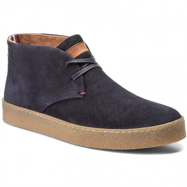 Tommy Hilfiger LOGAN - Lace-up boots - midnight QrERXD