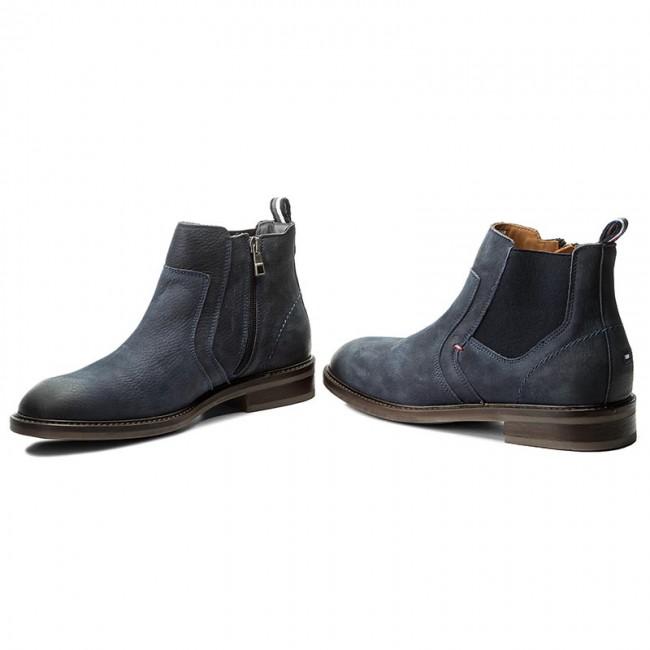 6db598aff Knee High Boots TOMMY HILFIGER - Rounder 2N FM0FM00990 Midnight 403 ...
