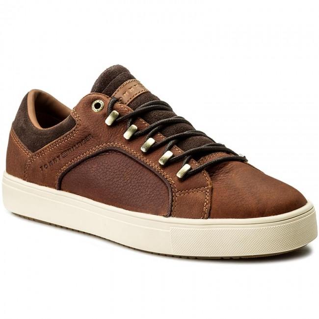 Sneakers TOMMY HILFIGER - Moon 2A2 FM0FM01041 Cognac 606 - Sneakers ... 2d98b0e6e0e