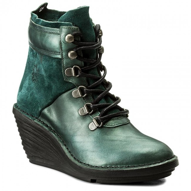 Boots LONDON FLY P300678004 SeaweedBottle High Sicafly Boots qZHXx1q