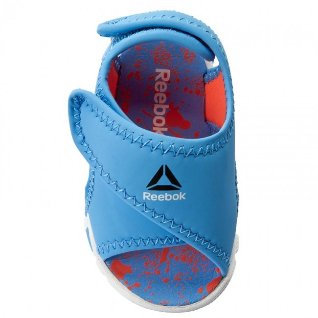 b36e10dfd265 Sandals Reebok - Wave Glider II BD4264 Sky Blue Vitamin C - Sandals - Clogs  and sandals - Girl - Kids  shoes - www.efootwear.eu